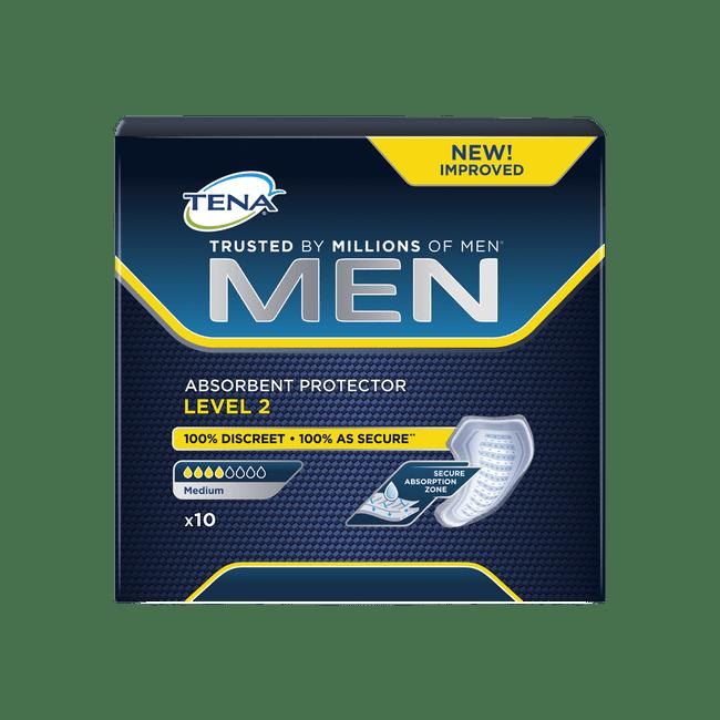 absorvente-masculino-tena-men-level-2-10-unidades